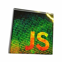 Custom anti-counterfeiting technical security cheap 3D hologram sticker