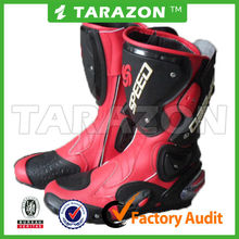 hot sale crazy red shoes for motocross