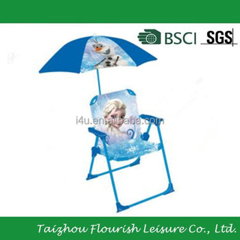 Chair snow queen and parasol