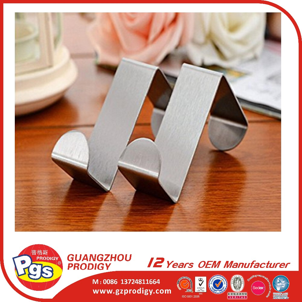 stainless steel over door hook, Metal Wreath Hanger