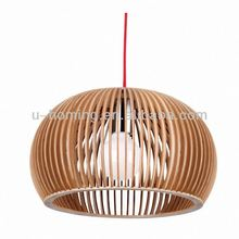 Timber pendant lamp Led Chandelier Pendant Light