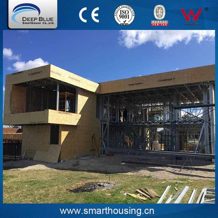 Competitive price prefab kit home/house/villa