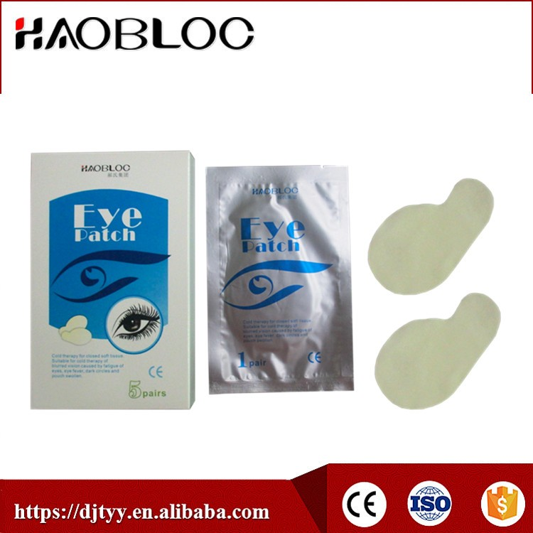 Haoblco Eye Patch, Cold Therapy Suitable for Blurred Vision Caused By Eyes Fatigue