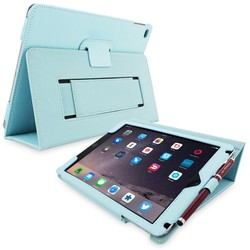 Universal Mini Holder For Tablet/Kindle Android Stand Free Hand Folded Support Leather Case