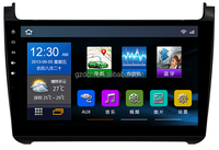 10.2 inch android car pc for VW polo 2015 year 1024*600 quad core 1G+16G RK3188 WS-9675