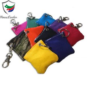 Official Tailgate Backyard Weather Resistant Top Quality Duck Canvas or Dual Sided Cornhole Bean Bag Keychain