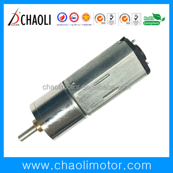 N20 and N30 4.5V spur gear dc motor with metal seal gearbox for door lock ,robot and medical equipment