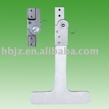 Stainless steel hip locking hinge