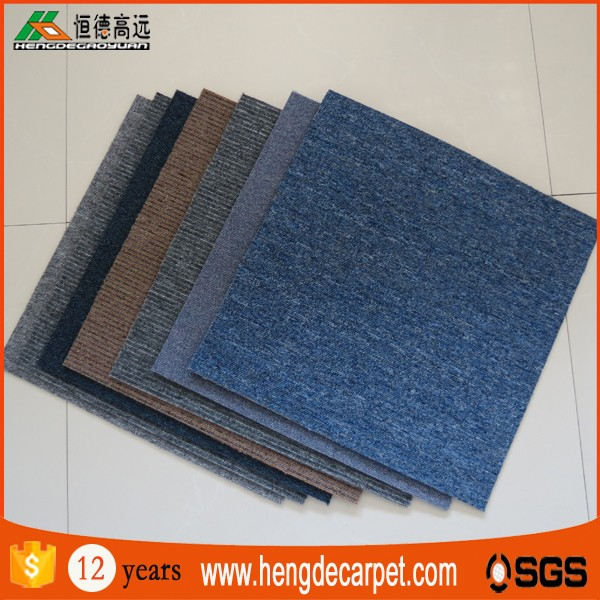 china wholesale soundproof turfed carpet flooring tiles 50*50 usa