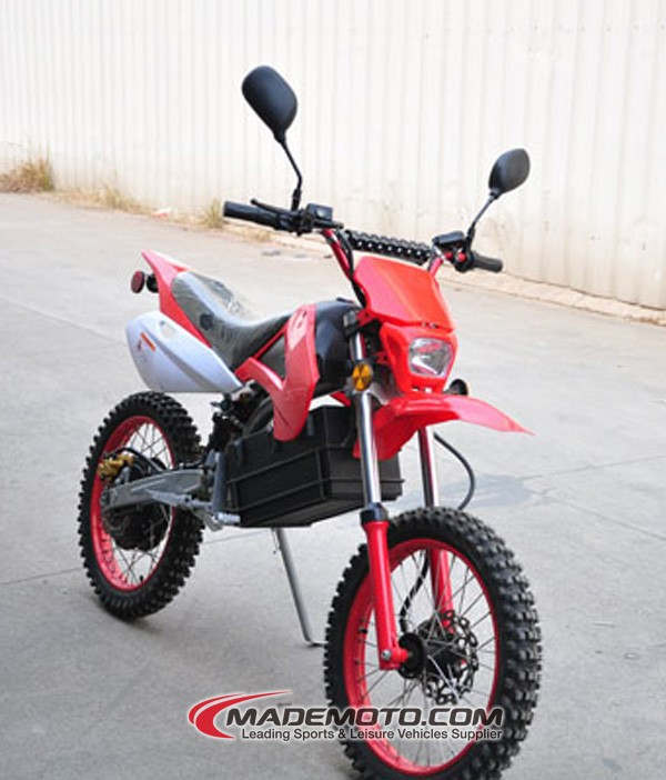 New 1200W Mademoto Adult Dirt Bike Sport Racing Bike Off Road