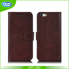 Luxury Durable PU leather wallet phone case for Iphone6/6s