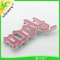 Rock letter design metal buckle hot Design belt Buckle