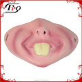 halloween accessory funny half face mask