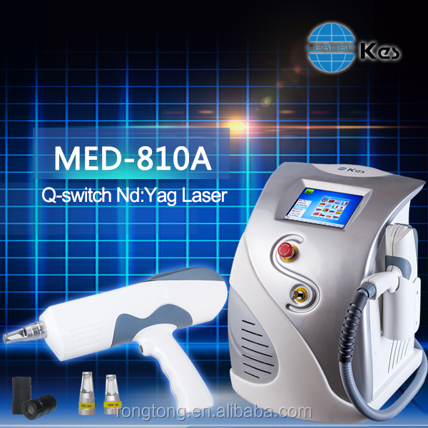 Nd: YAG Laser tattoo removal laser 2000mj MED-810A laser tattoo removal victory