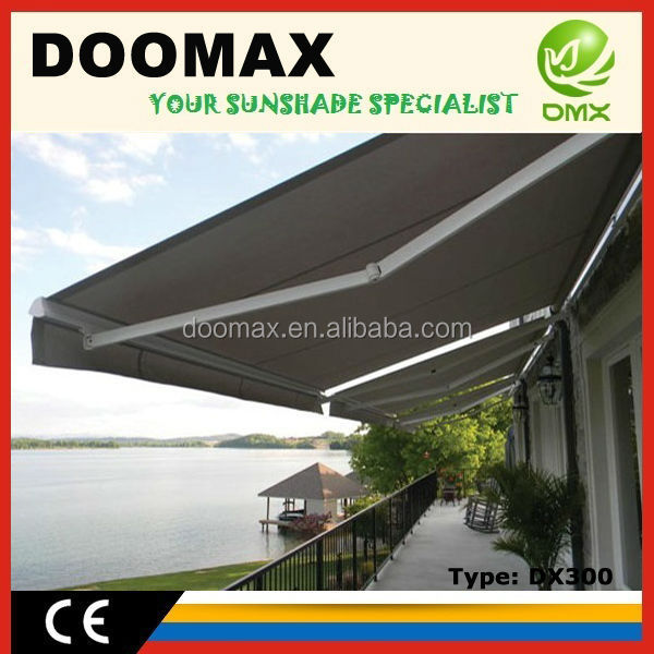#DX300 Customized Design RV Awning Material