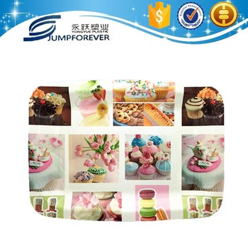 household daily promotion pringing plastic plate