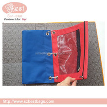 3-ring pencil pouch , binder pencil pouch wholesale