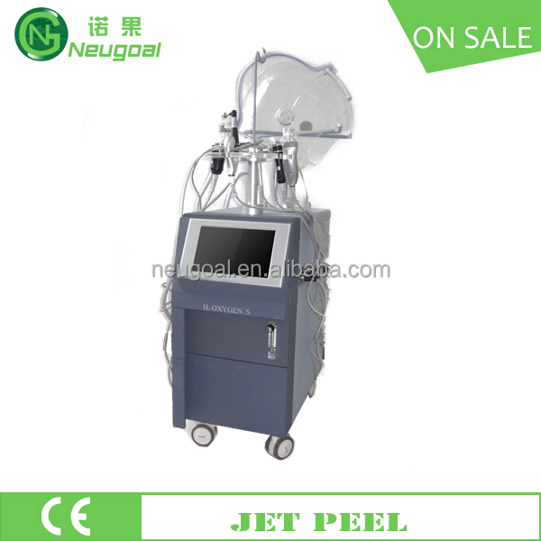 jet peel with supersonic RF bio current photon oxygen