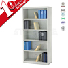 Flat pack metal office file rack with adjustable shelves