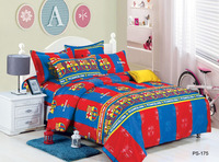 wholesale reactive printed 100% cotton fabric FCB football team for making bedding sets