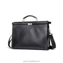 Hautton good quality fashion mens leather briefcase