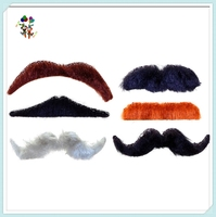 6pcs Font Rogue Self Adhesive Funny Party Fake Moustache HPC-1659