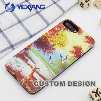 Wholesale Price Cell Phone TPU PC Case For Huawei GR3 Skin Design Case