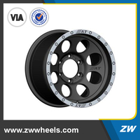 ZW-P5187 16 inch cheap alloy wheels for car, 6x114.3/139.7 rims