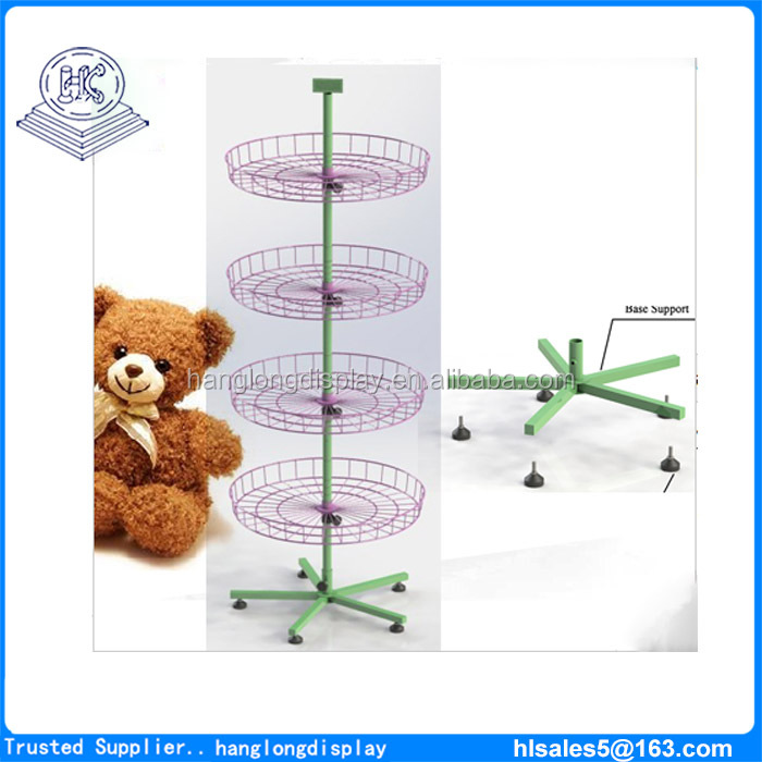 Floor Spinner Rotating Display Stand for Plush Toys