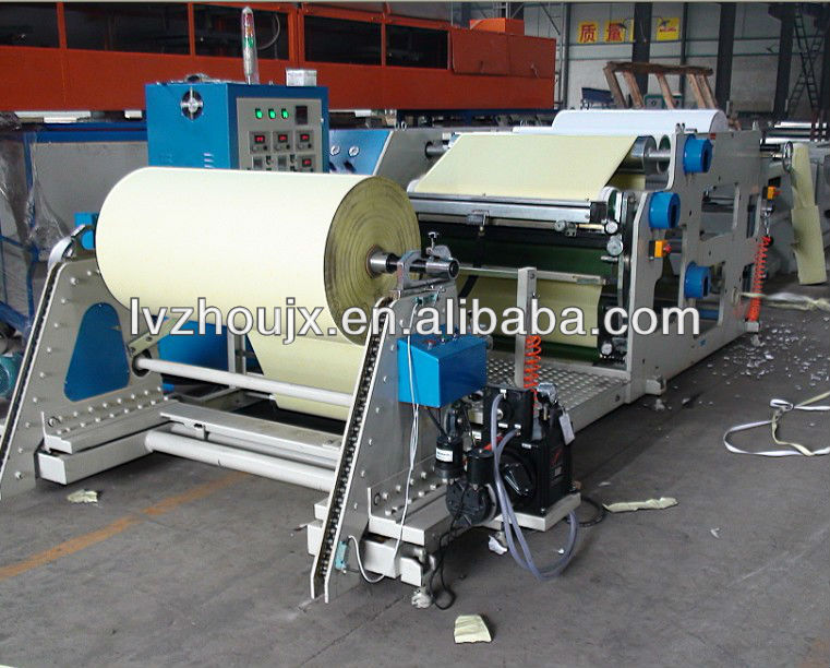 Label/Self Adhesive Tapes/Ahesive Film/Sticker/Transfer Tape Making Machine, Hot Melt Glue Thermal Laminating Machine