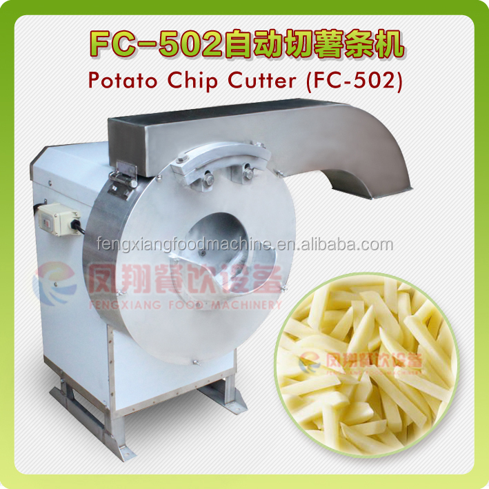 FC-502 Good Cutting Effect Commercial Potato Chips Cutter Making Machine