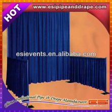 ESI velvet inflaming retarding Events backdrop pipe and drape