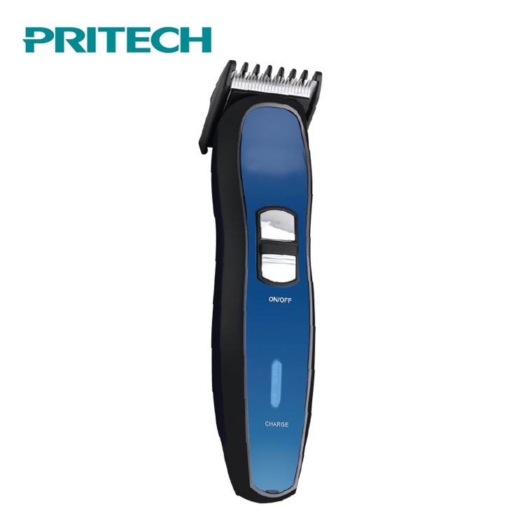 PRITECH High Quality Stainless Steel Blade Men'S Electric Rechargeable Hair Clipper