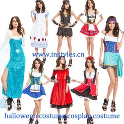 Instyles Fancy Dresses,Plus Size Feature and Women Gender Roman Soldier costume