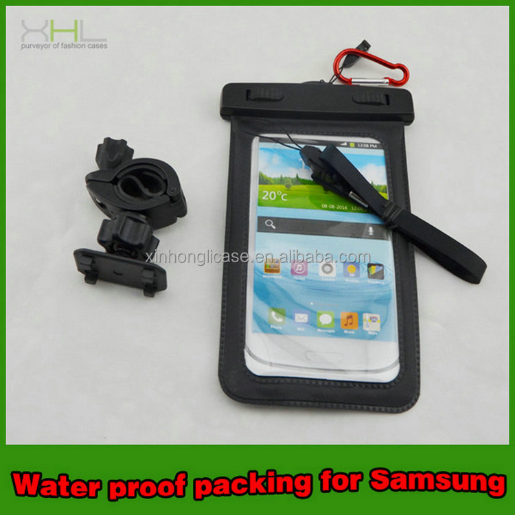 Top selling products Wp100 bracket cheap mobile phone waterproof case