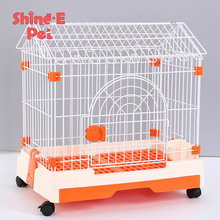 Factory price wholesale cheap outdoor chain link kennel pet dog cage houses