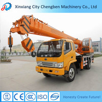 Crane Manufacture Mini Bucket Crane Truck with Flatbed for Sale