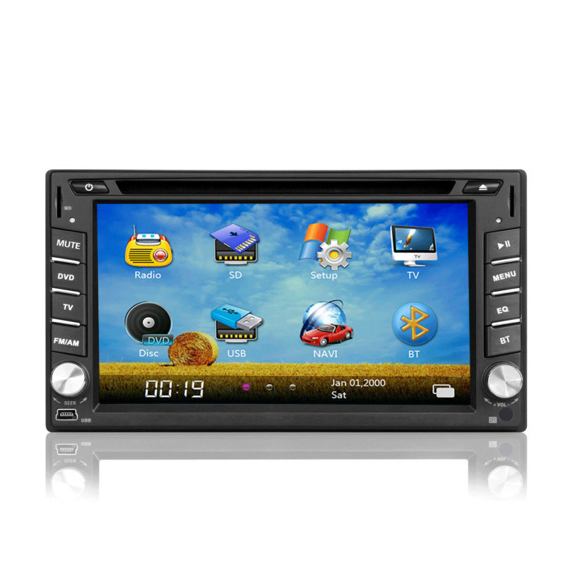 Universal Car Stereo GPS with 3G/IPOD/RDS/USB/SD 6.2inch 2din for most cars