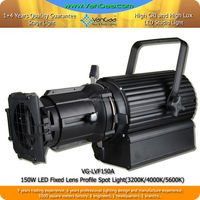 VanGaa COB 150W White LED Profile Spot beam Light RGBW Ellipsoidal