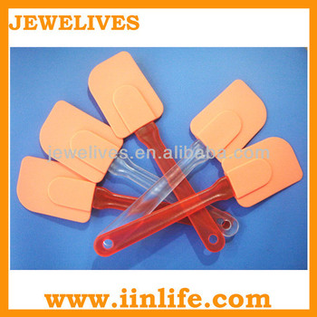 Mini plastic cosmetic hair spatulas for waxing application