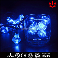 LED blue environmental protection decorative solar energy lamp series