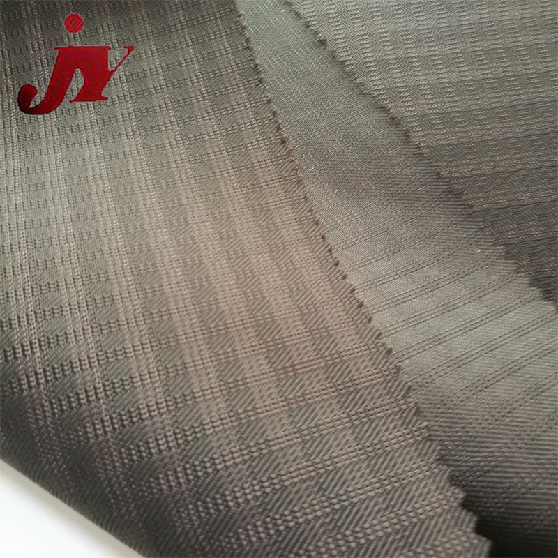 ripstop diamond woven pvc coating jacquard 600d polyester luggage material oxford fabric