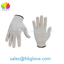 500g Seamless Knitted Cotton Working Gloves
