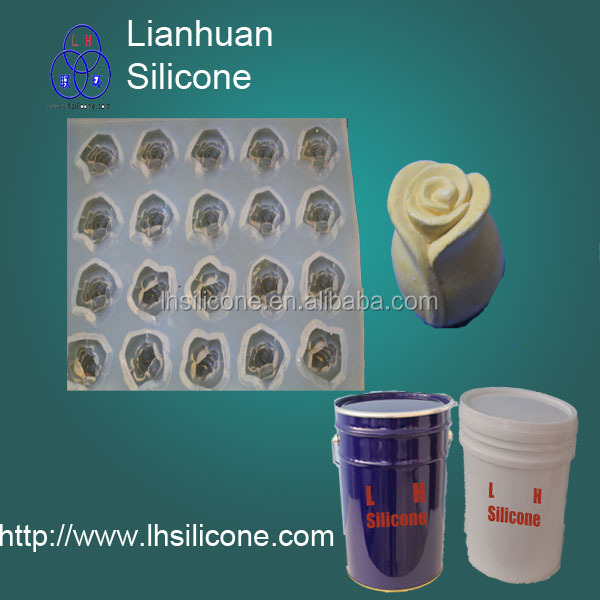 Chemical silicone rubber for PU resin GRC, <strong>concrete</strong>, craft, gift moulding duplication Dow Corning