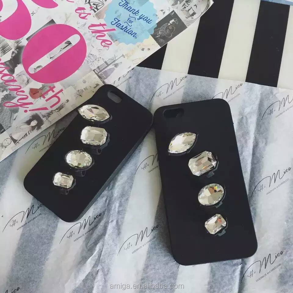 Cell Phone 2016 Trending Products Accessories For Women Finger Ring Grip Silicon Diamond Case For iPhone 6 For iphone 6s case