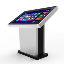 High quality standalone metal case interactive Touch screen kiosk with advertising totem lcd display
