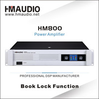 2 Sound Channel Professional Audio Amplifier Power Amplifier HM800