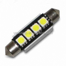 LED festoon light 12V High lumen LED Festoon Bulb 4SMD car 1.8W led car light