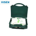 2018 Hot sale Portable Medical First Aid Kit box Tackle Plastic First Aid boxes PP Plastic Empty First Aid Box
