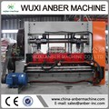Rhomboid mesh expanding machine Expanded metal mesh machine
